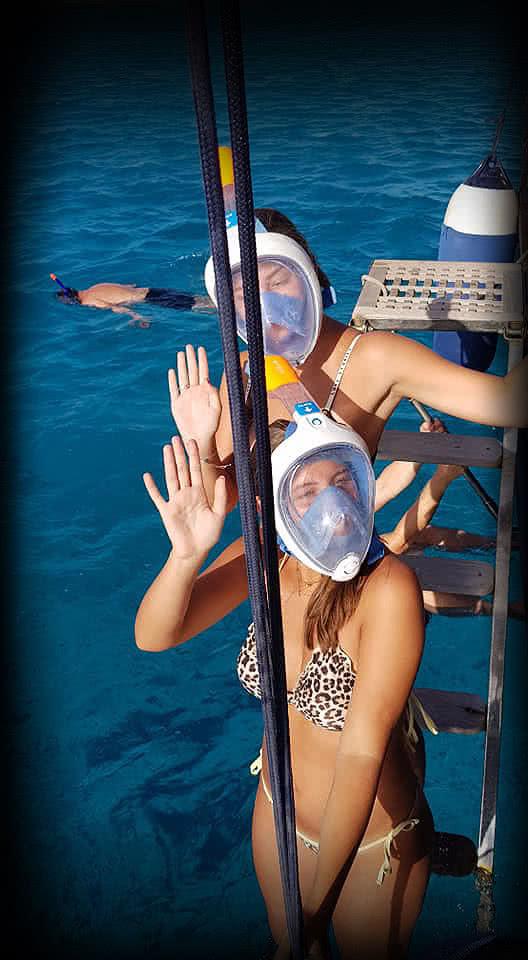 Melisa Sailing tour to Klein Bonaire