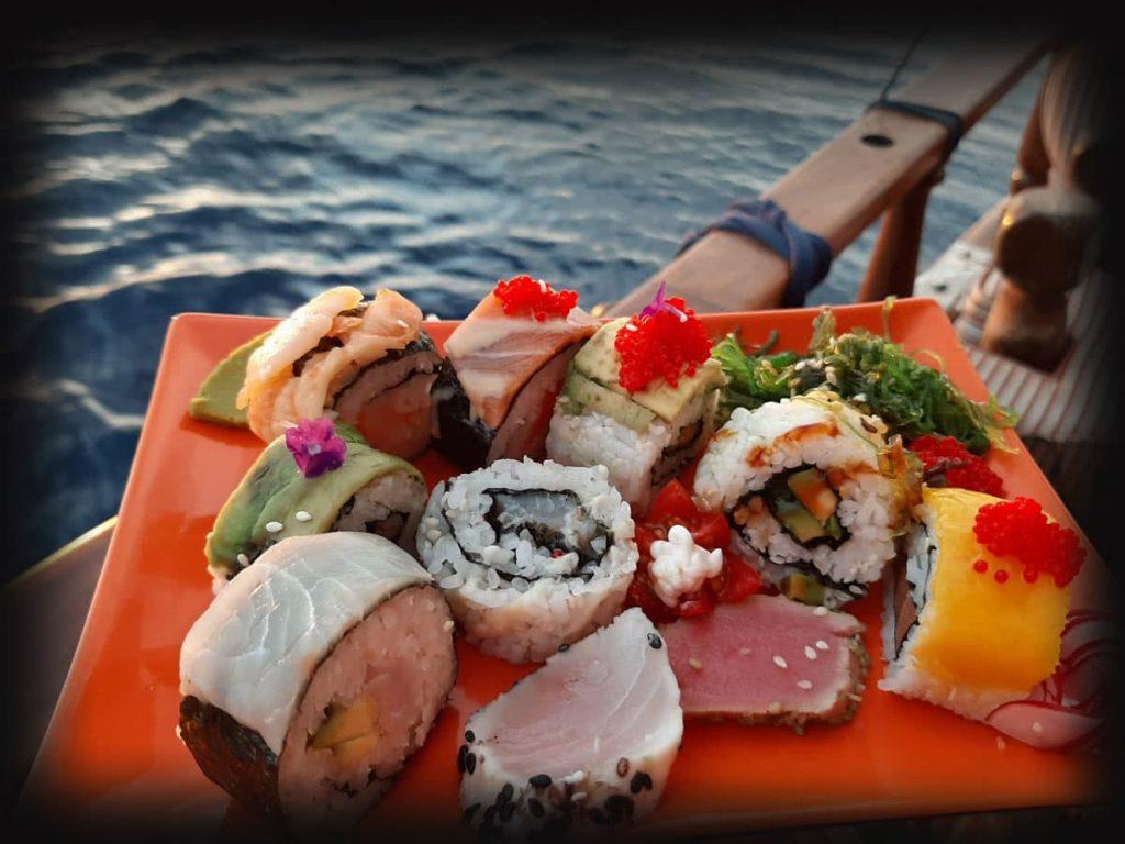 Sushi Restaurant dinner